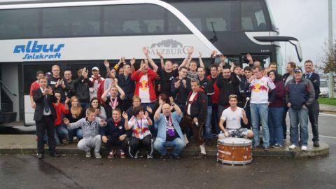 Reisebericht der Auswärtsfahrt Standard Lüttich vs. Red Bull Salzburg