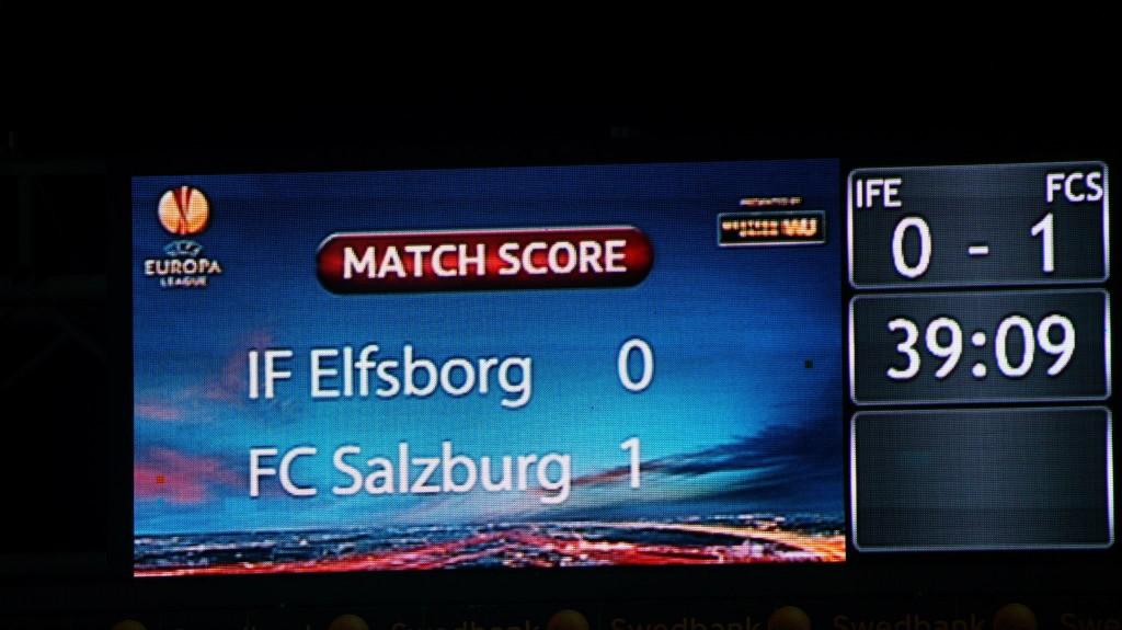 IF Elfsborg vs. FC Salzburg